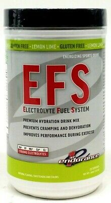 First Endurance EFS Electrolyte Fuel System Sports Drink Mix Maximize Hydration