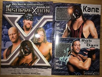 HAND SIGNED RVD 8x10 RVD AND KANE