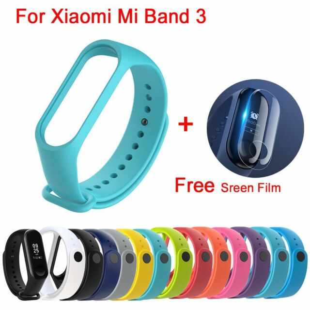 Silicone Bracelet Wrist Strap Replacement Wristband Smart Band for Mi Band 3 HQ