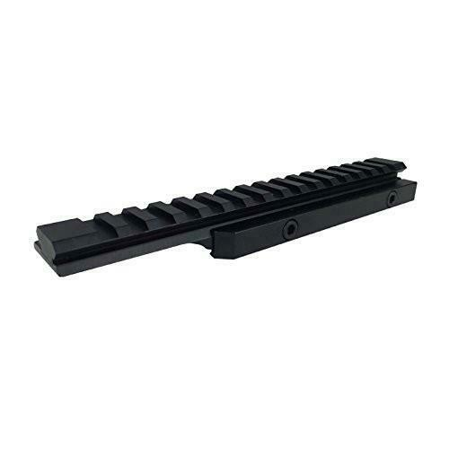 "Details about  /Valken Outdoor Tactical Riser Mount 0.5/"" 16 Slots 20 MOA Rifle Accessory"