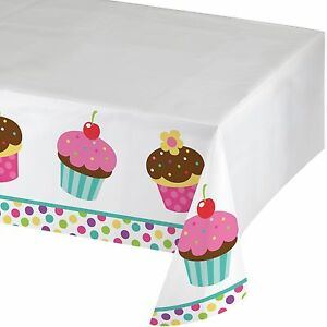 Image Is Loading Cupcake Table Cover 54 X 84 Inch Tablecloth