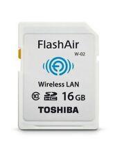WIFI Wireless SD Memory Card Toshiba Flashair II 16GB W02 SDHC Class 10 NEW