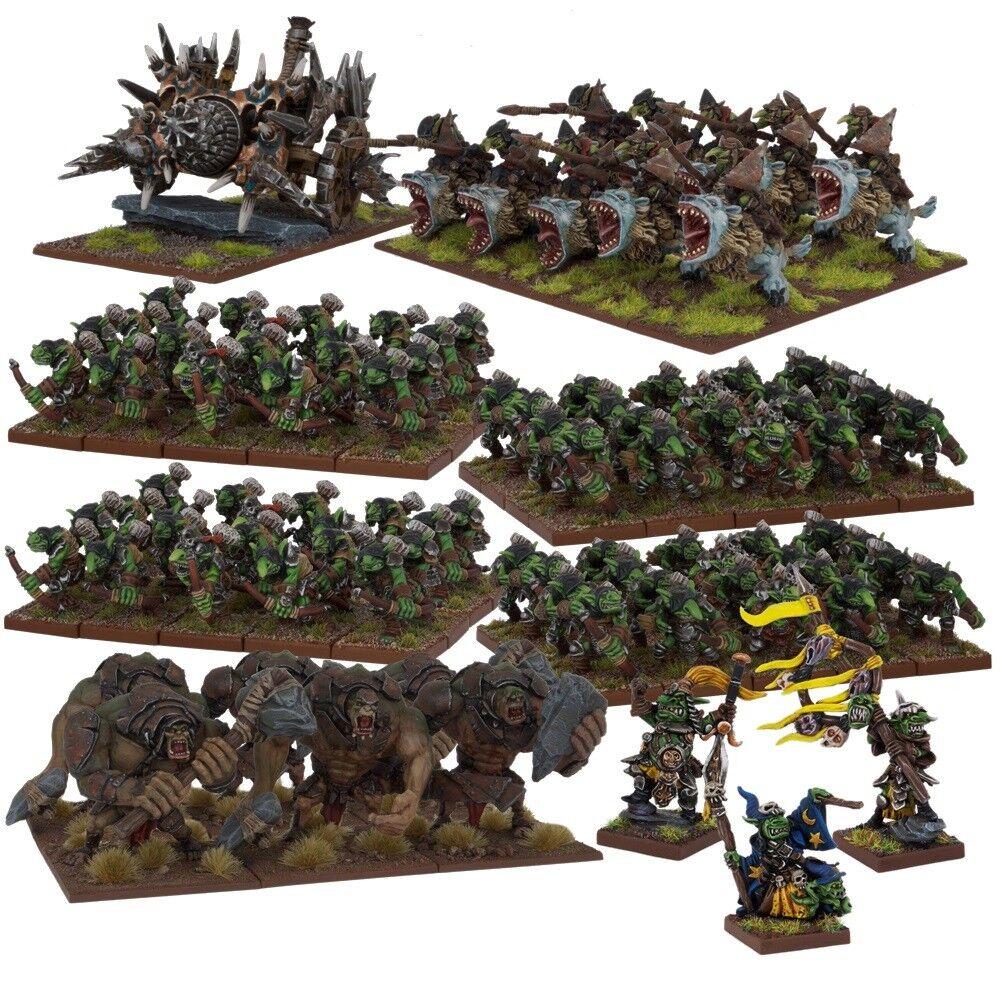 Goblin Mega Army Box Set - Kings of War - 100x Miniatures