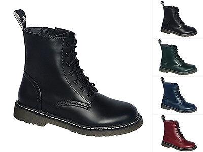 Knightbridge-gothic 7 Loch Stiefel Dark-creationz Dc Boots Gothicschuhe 37-46