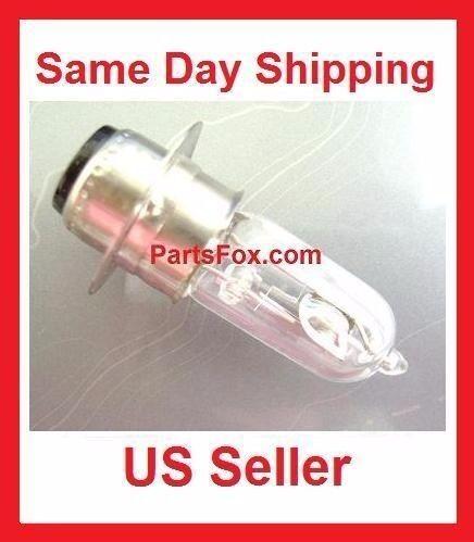 Head Light Halogen Bulb 12V35W Gy6 50cc 125cc 150cc 250cc fit 12V18W Taotao JCL