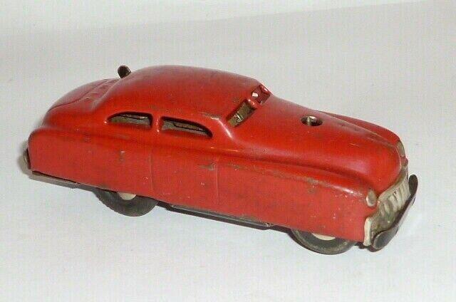 Old Schucoauto Tin Toy Schuco 3041 3041 Varianto Limo Red Car Car Tin Car