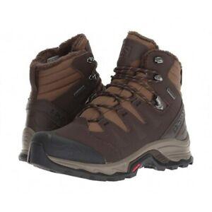 Salomon 4D Quest GTX Gore-Tex Insulated Winter Hiking Boots Mens Size 8 8.5