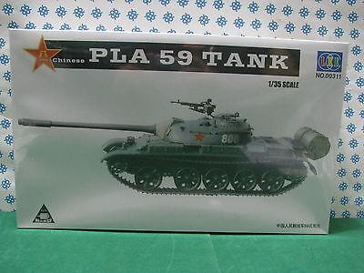 Entusiasta Vintage Model Kit - Pla 59 Chinese Tank 1/35 Lee 00311