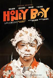 24x36 27x40 Honey Boy Movie 2019 Shia LaBeouf Lucas Hedges Fabric Poster D-597