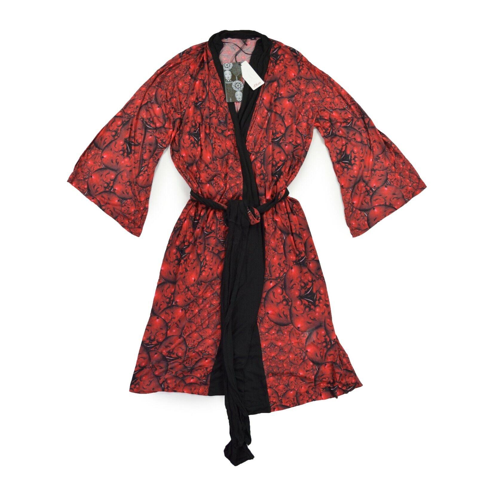 S.  Oliver Art Collection qiu shengxian señora kimono l 40 100% viscosa ropa de noche  nuevo listado