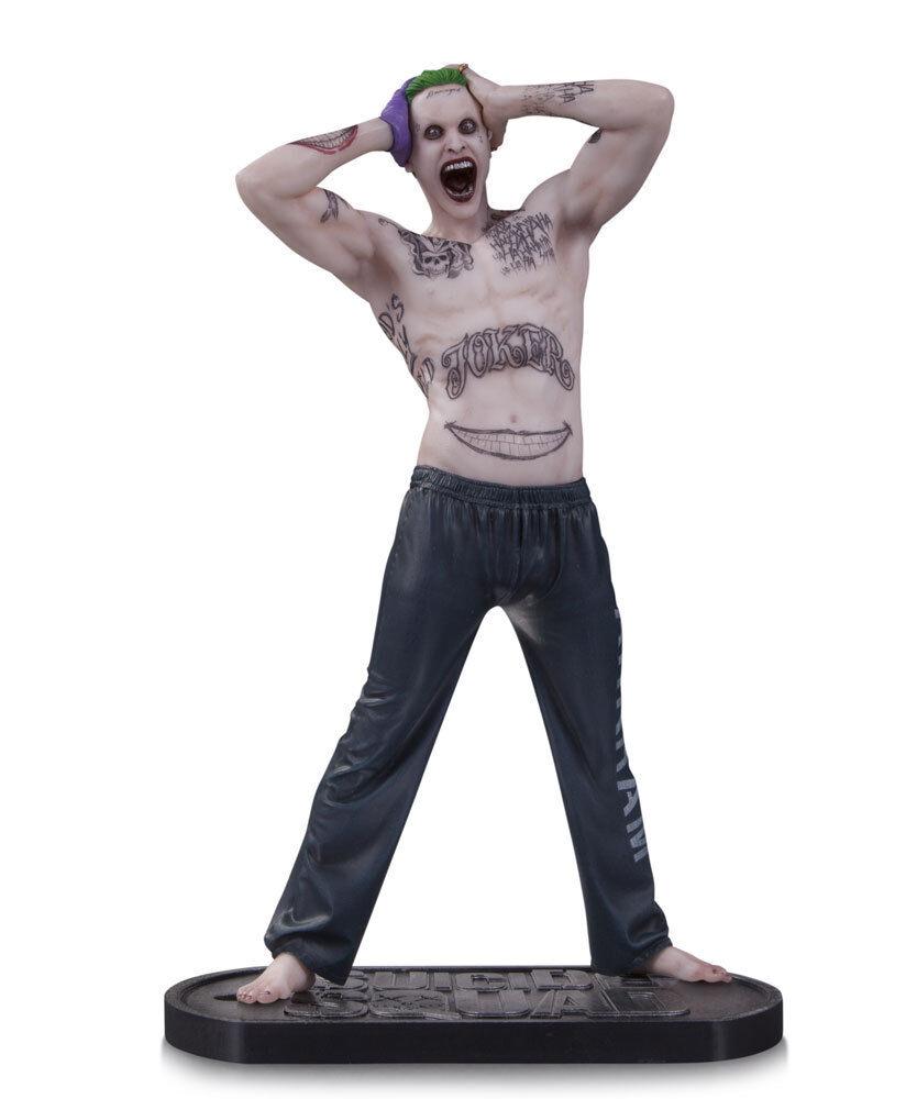 Dc Batman Movies Suicide Squad 12  Estatuas The Joker Jarojo Leto