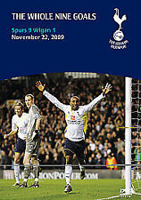 Tottenham Hotspur 9 Wigan 1 - Whole Nine Goals Spurs DVD