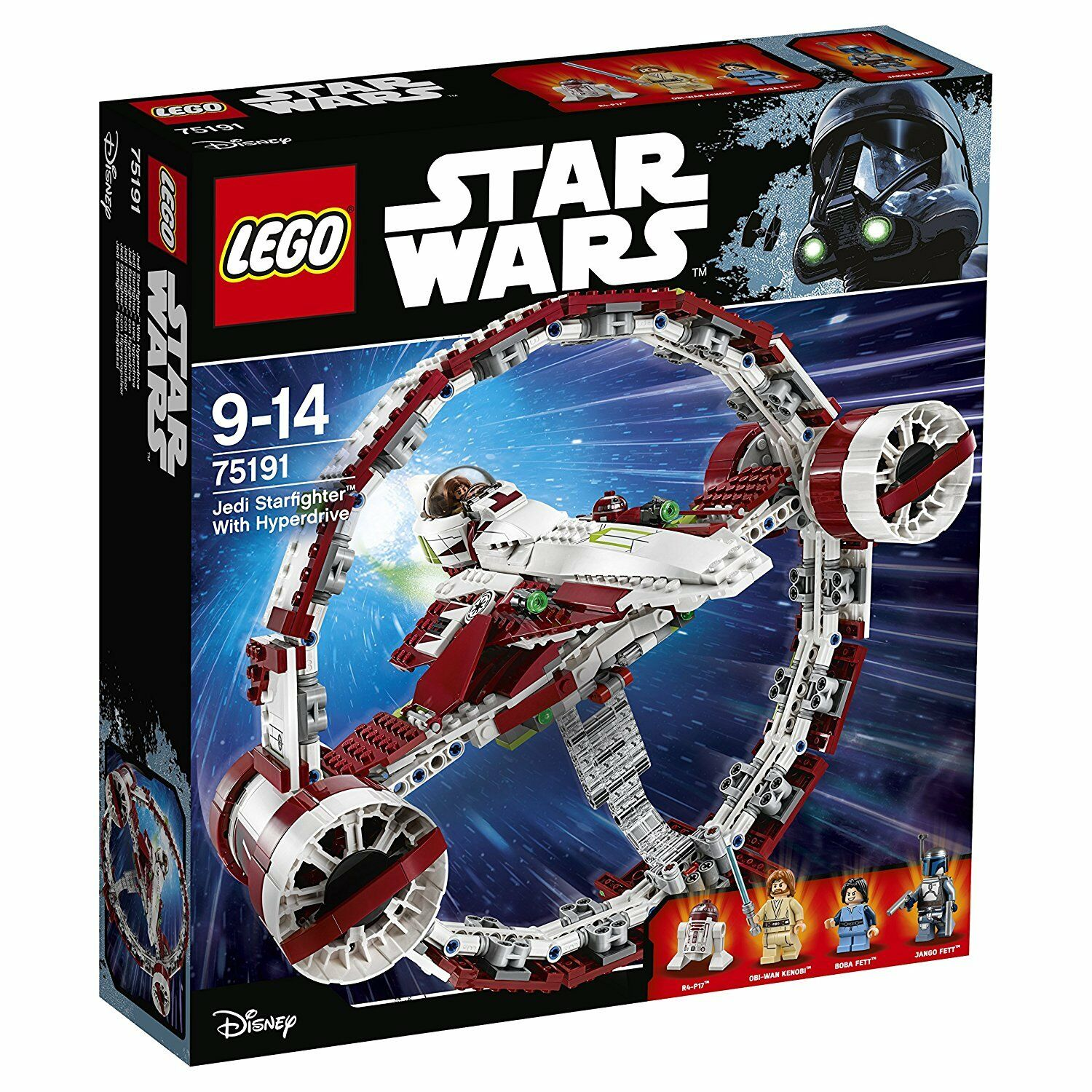 LEGO 7519 - Star Wars - Jedi Starfighter with Hyperdrive - NEW