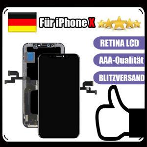 Display-Fuer-iPhone-X-10-LCD-RETINA-Glas-HD-3D-Touch-Bildschirm-Schwarz-DE