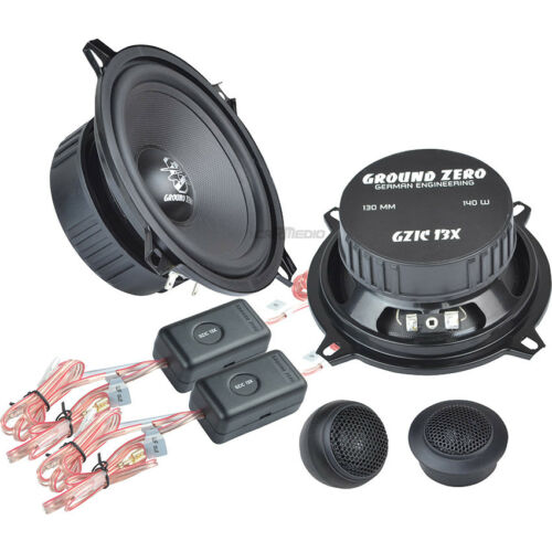 boxeo 130mm componentes Front Renault Master 2 03-10 Ground Zero altavoces
