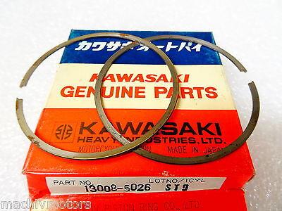 RING-SET PISTON L,O//S from Kawasaki Part#: 13025-1061