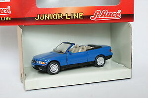 Schuco-1-43-BMW-Serie-3-Cabriolet-Bleue