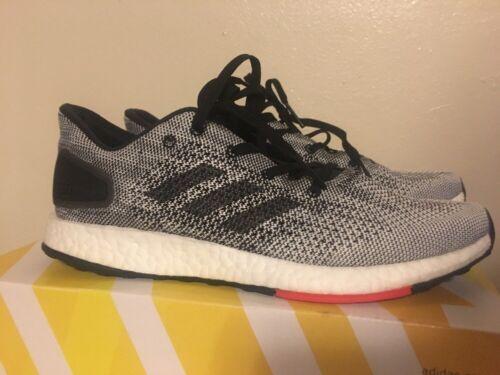 5 running uomo per S80993 Adidas 7 scarpa Nuova nero bianco da Pureboost taglia w8qEZpX