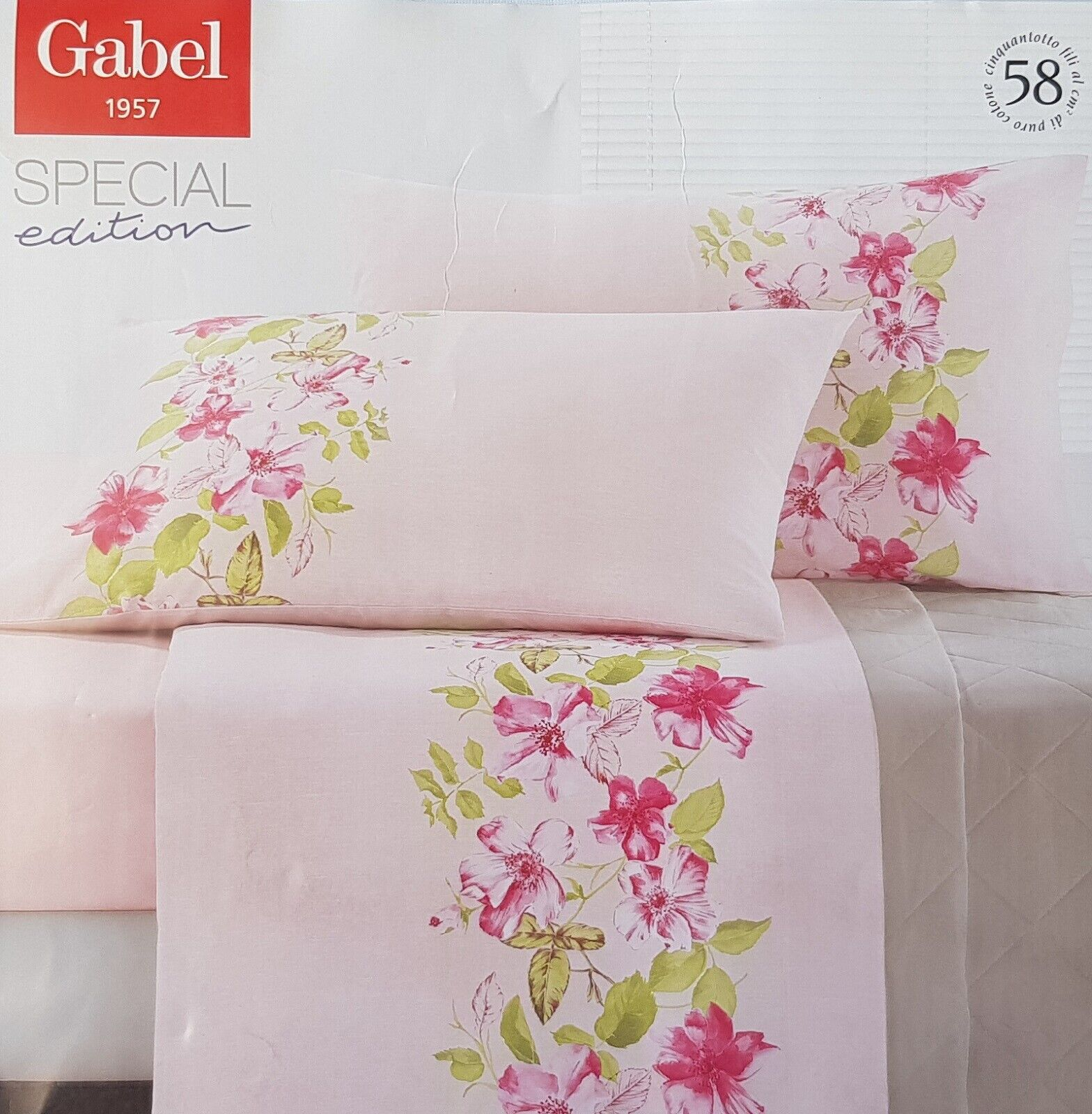 Sheets, Set bed Madapolam Cotton GABEL ARTFUL. Double, double