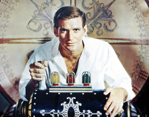 Rod Taylor, The Time Machine, Print 14 x 11""