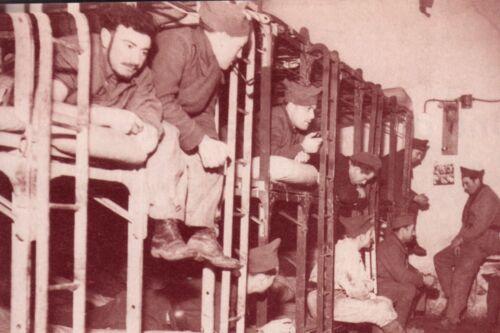 Une chambrée de la Ligne Maginot 1939//1940 WW2
