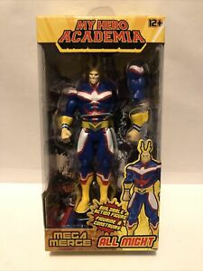 """Mega Merge Funimation  My Hero Academia All Might 5"""" Buildable Figure **NEW**"""