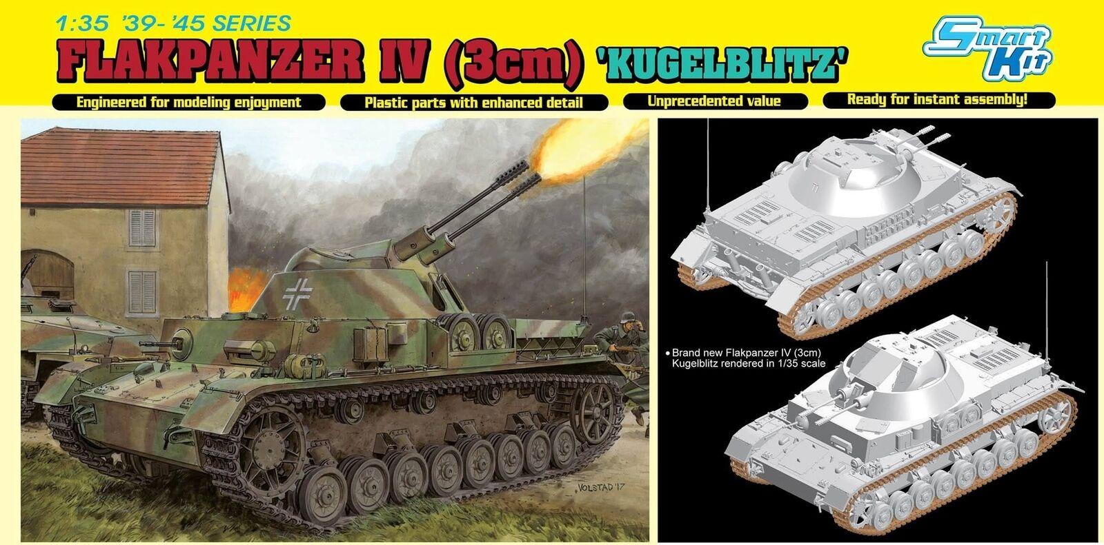 Dragon Flakpanzer IV (3cm)  Kugullitz  (Smkonst Kit)
