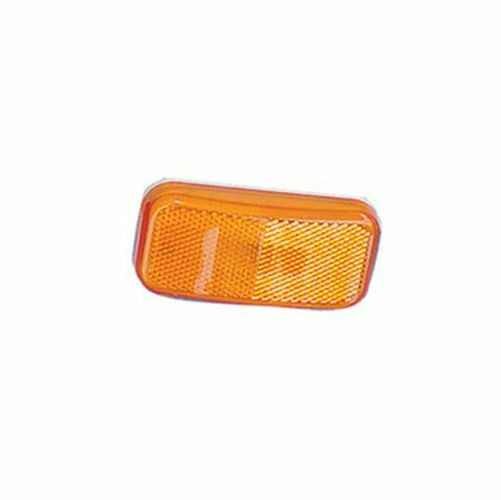 Command Rectangular Clearance Light w/ Amber Lens for RV ***FREE SHIPPING***
