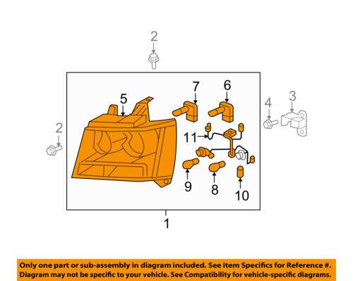 GM OEM-Headlight 22853026
