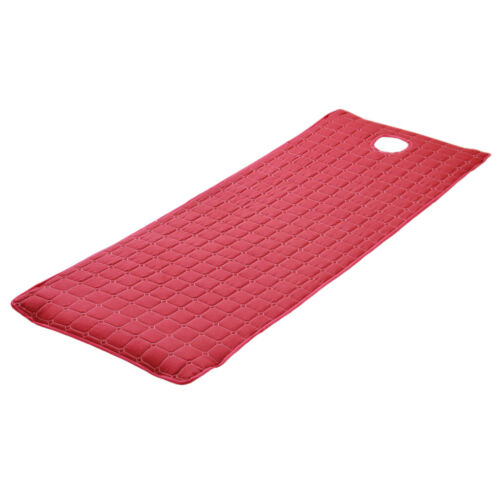 """Beauty Massage Bed Table Cover Mattress Sheet with Face Hole 75x28/"""" Red/_1"""