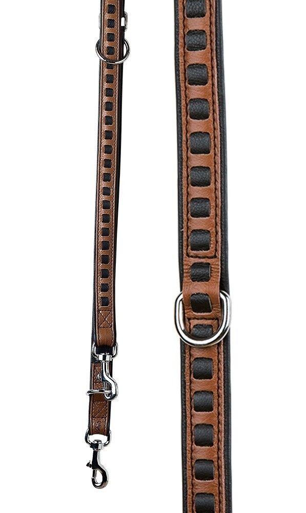 Leder Hundeleine  My Star  Weaving Weaving Weaving 2 Meter braun, GILDE, Lederleine  | Moderne und stilvolle Mode  d7f9c4