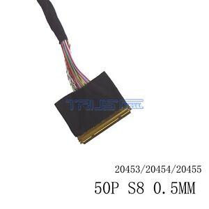 Equipement électrique, d'essai Équipements professionnels LVDS CABLE 20455-50P-S8 50pin 2ch 8bit for B101UAT02 B101UAN02 1900x1200 DISPLAY