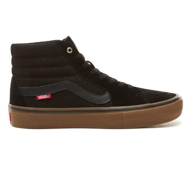Vans Sk8-HI pro pro pro Negro / Goma Zapatos Negro d5e918