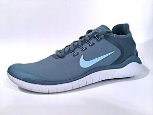 50aed8d4dfa3f Nike Free Run 2018 Sun Noise Aqua Ocean Bliss Men s Running Shoes SZ ...