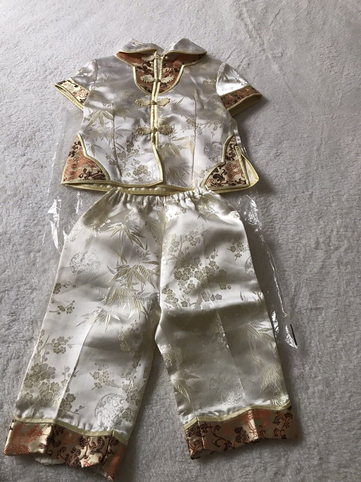 Chinese/ Asian Traditional Unisex Top And Trouser Set Size 2 To 3 Years
