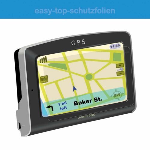 Garmin DriveSmart 51 LMT-D Anti-Sh 3x easy-top antireflex Displayschutzfolie