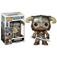 Dovahkiin The Elder Scroll V Skyrim Pop Games Funko In Box 57 Bethesda