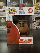 "THE SECRET LIFE OF PETS DUKE 3.75/"" POP MOVIES VINYL FIGURE FUNKO 296 NEW"
