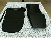 Honda Cbr600 Cbr 600 F4i 1999 To 2007 Model Seat Cover With Strap Black (h26)