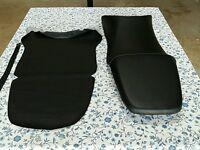 Honda Cbr600 Cbr 600 F4i 1999 To 2007 Model Seat Cover With Strap Black (h26)
