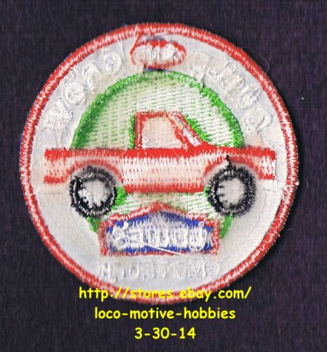 LMH PATCH Badge  2008 GMC TRUCK Pickup   LOWES Build Grow Kids Clinic Chevrolet