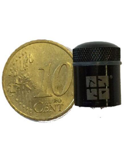 Nano métal Récipient magnétique avec Groundspeak-Logo Noir