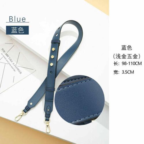 Adjustable Leather Handbag Cross Body Shoulder Bag Strap Belt Handle Replacement