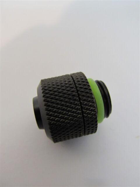 "G1//4/"" Thread Black Barrow THKN-3//8-B03 3//8/"" ID x 1//2/"" OD Compression Fitting"