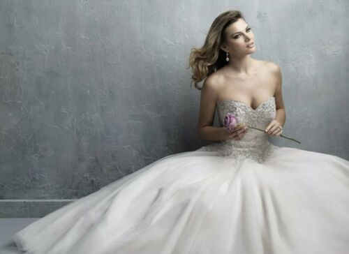 Wedding Dress Allure Couture C323 Size 10
