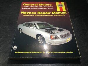 1994-2002-Cadillac-Seville-Cadillac-Deville-Haynes-Shop-Manual-Northstar-STS-SLS