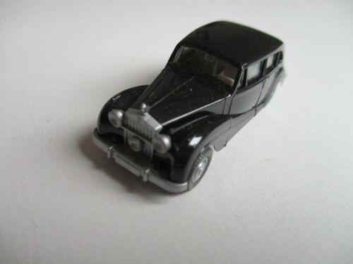 schwarz !!! Wiking H0 Rolls Royce 1951