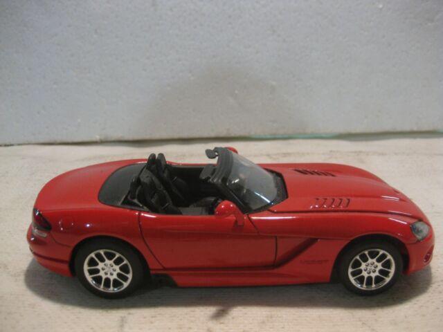 2003 Dodge Viper Srt 10 Convertible dans un Orange 124 à L'Échelle Miniature
