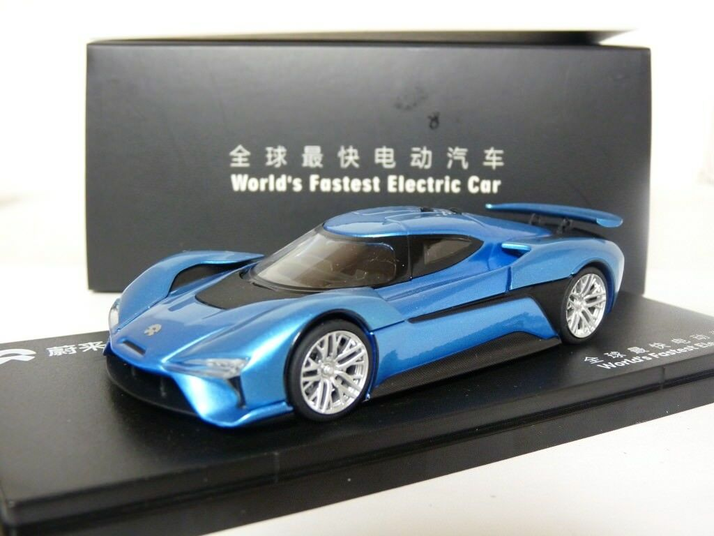 Unknown 1/43 2016 NIO EP9 World's Fastest Elecitric Car Diecast Metal Model