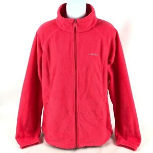Columbia-Full-Zip-Fleece-Women-s-Long-Sleeve-jacket-size-XL